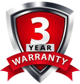 3 Year or 36,000 Mile Warranty